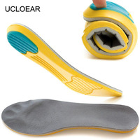 High Quality Sport Insoles Memory Foam Pads Running Sport Shoes Inserts Breathable Insoles Foot Care Expert