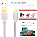 SL Nylon Braided Micro USB Cable with High Speed USB 2.0 A Male to Micro B Sync and Charging Cord for Samsung,HTC,Huawei Android