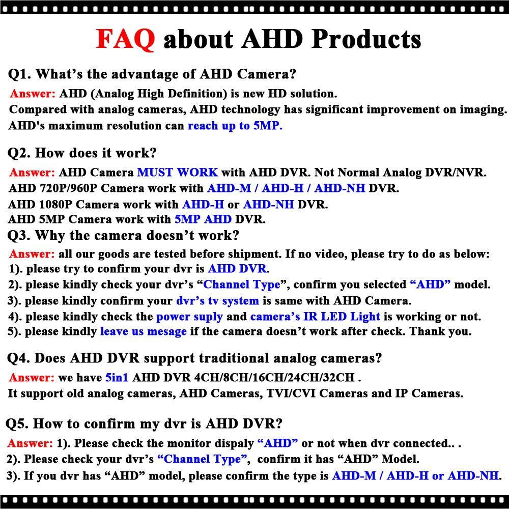 FAQ AHD