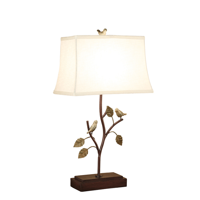 American country birds iron table lamps bedrooms bedside lamps american country birds iron table lamps bedrooms bedside lamps creative study living room decoration mozeypictures Images