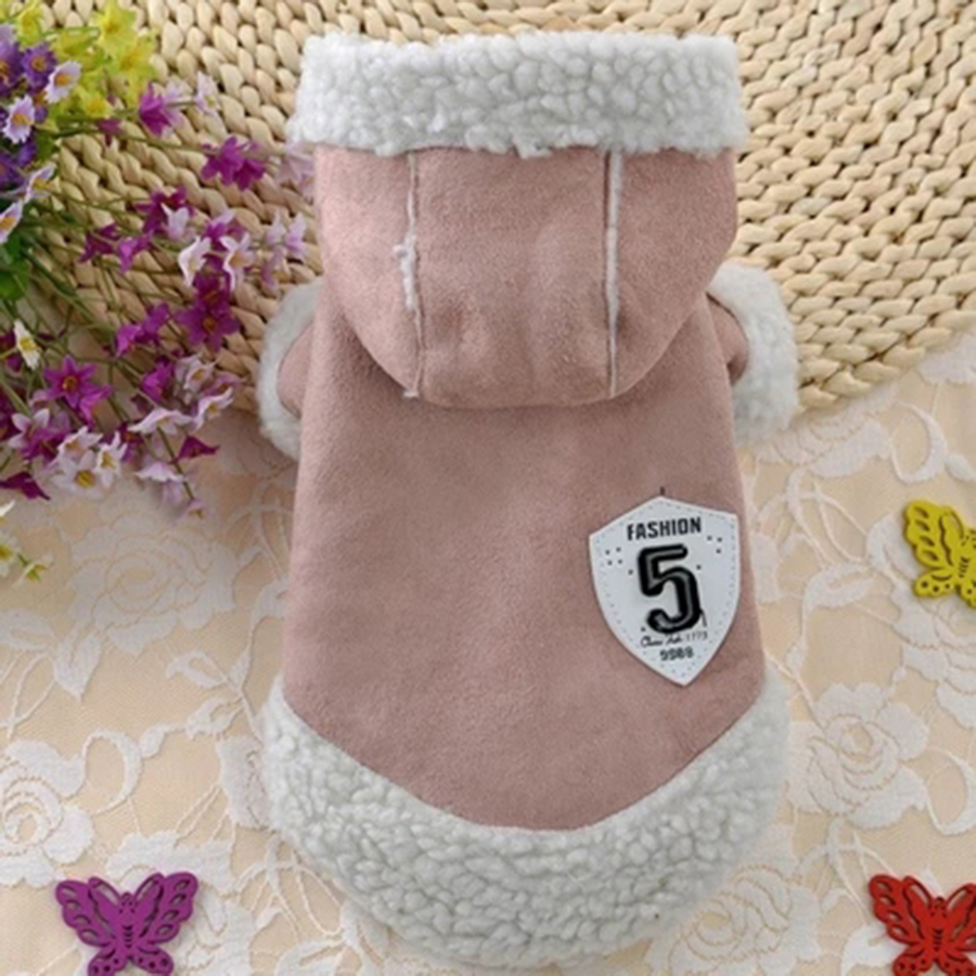 Dog Coat Jacket Pet Supplies Clothes Warm Winter Poodle Chihuahua Yorkshire Terrier Puppy Coat Navidad Dogs Pets Clothing 50JK06 in Dog Coats Jackets from Home Garden