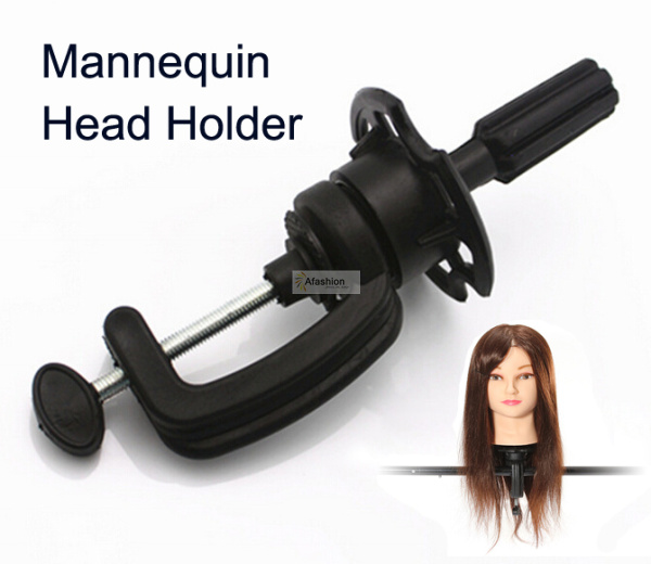 1pc Adjustable Mannequin Holder wigs stand for mannequin head Manik hair Training model hairdressers salon styling tools