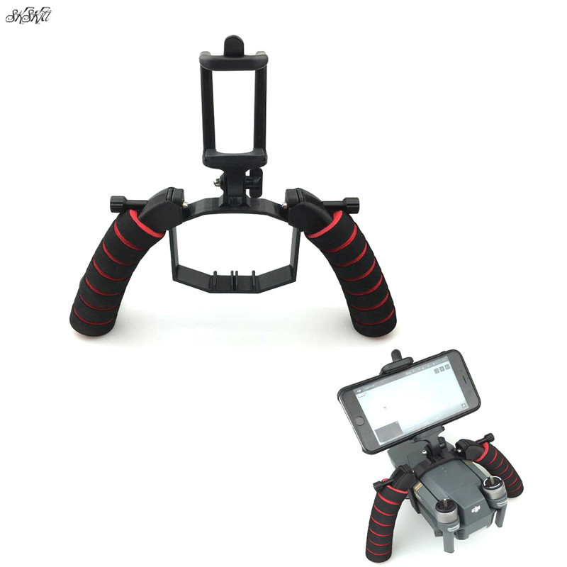 3D Printed Mavic Handheld Gimbal Stabilizer Tray Portable Handle Bracket Kit For DJI Mavic Pro Drone Accessories