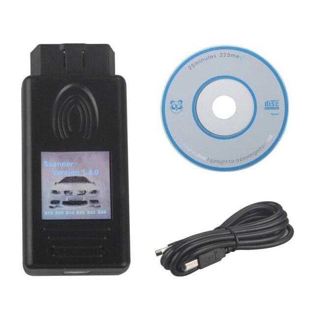 ماسح ضوئي للسيارة جديد V1.4.0 لسيارات BMW ، جهاز فحص السيارة 1.4.0 ، مع وظيفة المسح الضوئي للسيارة IKE / LCM / EWS