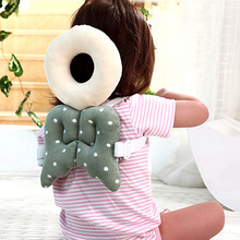 Toddler baby neck pillow newborn head protection protector pad wings learning walking stick harness assistant aid safety helmet