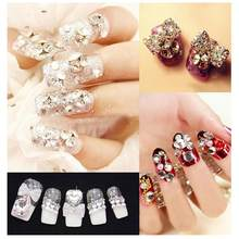 Mtssii New High Quality Clear Crystal Rhinestones Transparent Round Pointed  Back Chaton Strass Stones SS4 to SS38 3D Nail Art 0c99b9554014