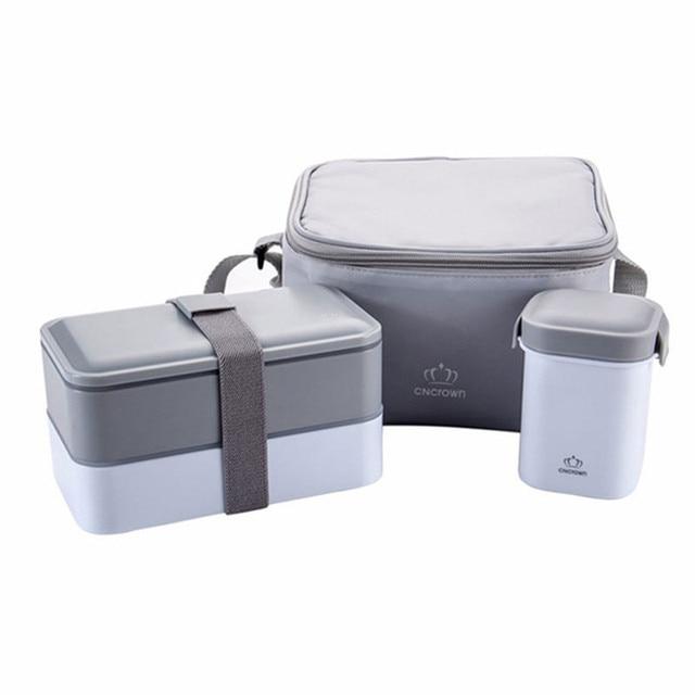 Высокое качество японский бенто Коробки для обедов вода суп кружка Изолированные Обед Кулер Сумка Еда контейнер печь Bento Коробки для обедов