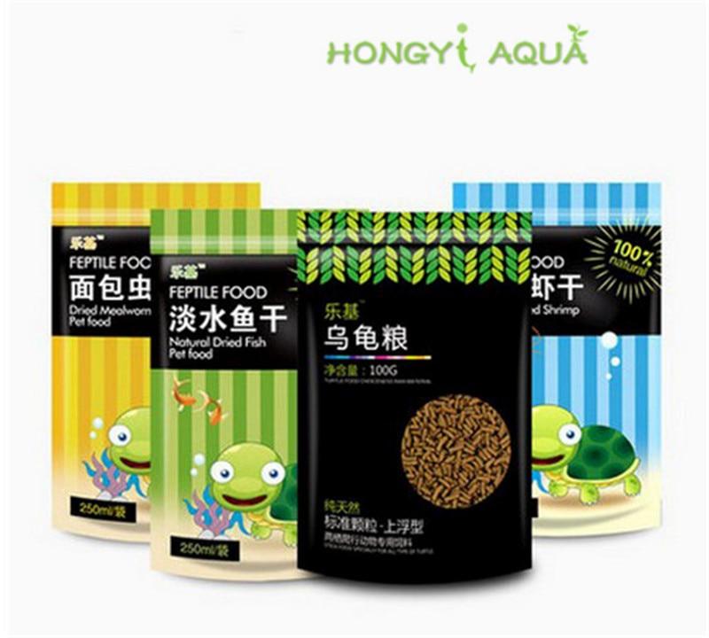 2 pieces/lot food feed aquarium fish food freshwater fish dry freshwater shrimp dry bread worms dry turtle grain turtle feed 30g