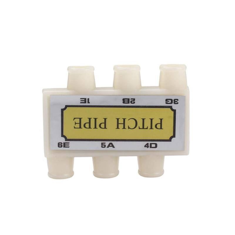 plastic guitar pitch pipe tuner e a d g b e for acoustic guitar string tuning in guitar parts. Black Bedroom Furniture Sets. Home Design Ideas