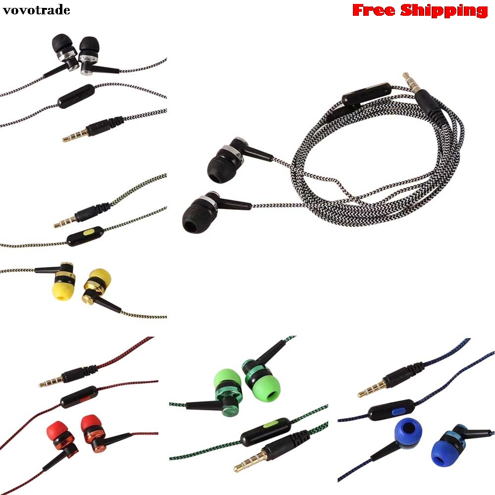toopoot Hifi Bass Stereo In-Ear Earphone Headphone Headset Earbuds 3.5mm Fashion In Ear Noise Isolating Drop Shipping factory price binmer hot selling 3 5mm super bass stereo in ear earphone headphone headset nov1 drop shipping