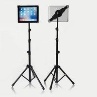 1pc Universal Adjustable Tablet Tripod Floor Stand Tablet Holder Mount Tablet Support Bracket for 7 12 inch Tablets Pad For Ipad