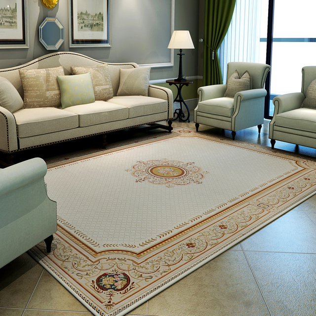 Europe Simple Carpets For Living Room Home Bedroom Rugs And Carpets Study Room  Floor Mat Coffee