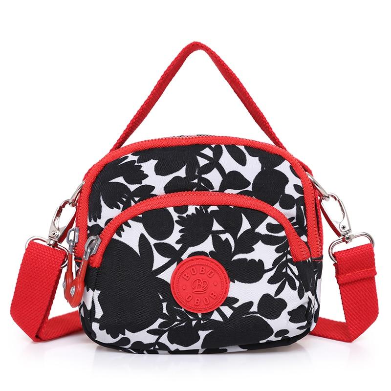 Dámské Messenger Tašky Dámy Nylon kabelka cestování rameno Žena vysoce kvalitní malé Crossbody Bag Casual Mini Satchel