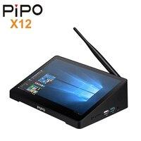 Pipo X12 Многофункциональный Применение принтер мини ПК Интера Cherry Trail Z8350 Intel HD Встроенная память Wi Fi 1000 Мбит/с BT4.0 Windows10 Поддержка 4 K H.265