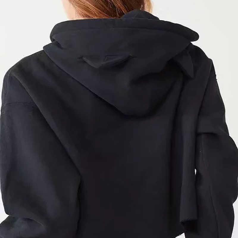 42b0ba31478 ... Kpop BTS Printed Shirt Women Sex Crop Tops Sweatshirts Cat Ears Long  Sleeve Shirts ARMY BT21 ...
