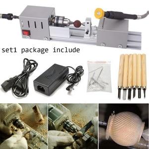 CNC Mini Lathe Machine 24V DC