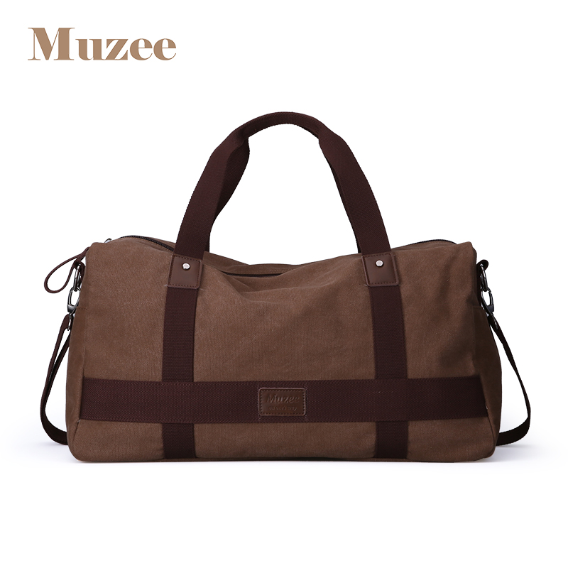 High Quality Large Capacity Travel Bag New Fashion Multifunctional Canvas Travel Duffle Casual Tote Single Shoulder