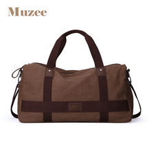 High Quality Large Capacity Travel Bag New Fashion Multifunctional Canvas Travel Duffle Casual Tote Single Shoulder Bag ME_1356