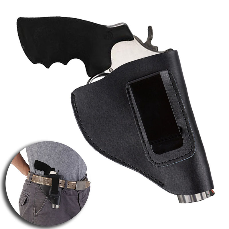 New Arrival Tactical Holster in Gun Accessories Genuine Leather Hunting Combat Holster Revolver Hunting Supplies