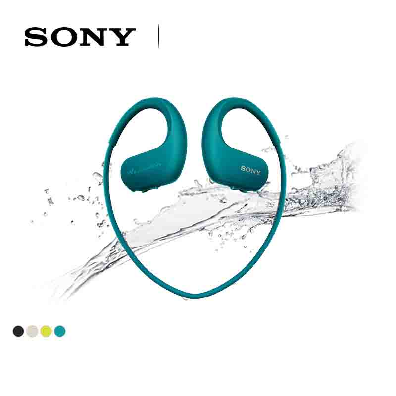 SONY NW-WS414 Waterproof Swimming Running Mp3 Music Player Headset Integrated Accessories Free Shipping Waterproof