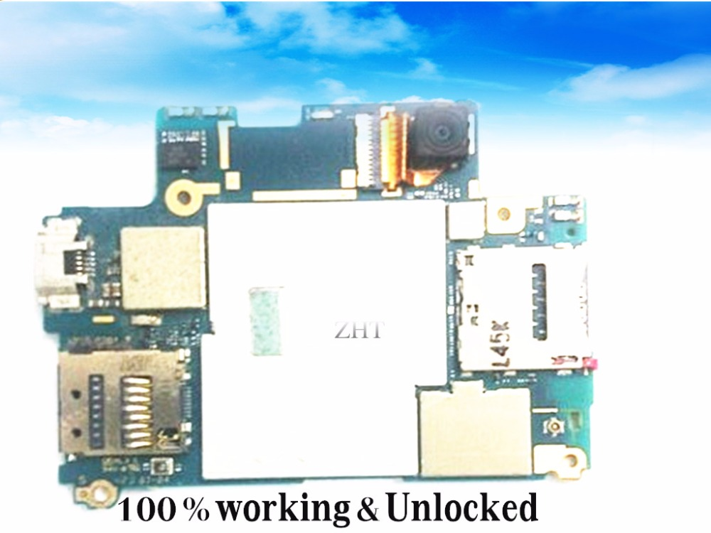 Unlocked & EU Version Original Logic Board For Xperi  z2 L50U Motherboard Free shipping original tnpa5082ap plasma tv z board
