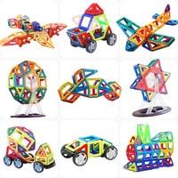 Magnetic Constructor Building Blocks 111PCS 3D Educational DIY Mini kits Magnet Designer Accessory Toys for kids Christmas Gift