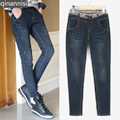 New 2016 Jeans large size women Harem pants Jeans, High Quality Skinny Stretch Denim Ladies' Jeans for women Full Length