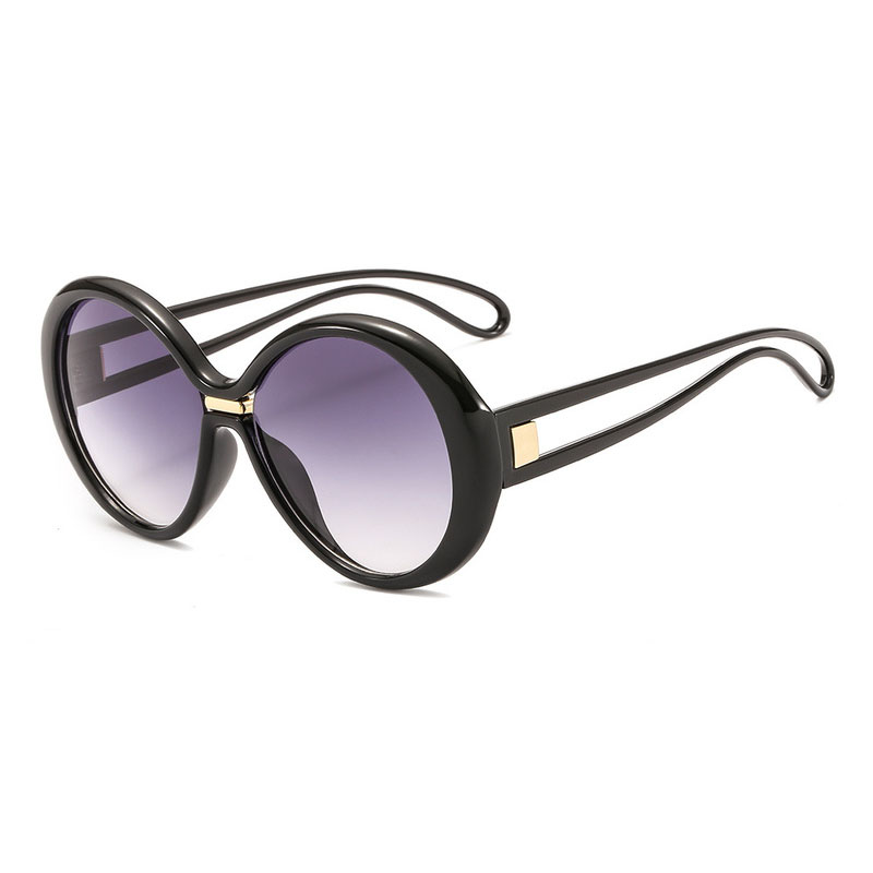 Women's Sunglasses Ocean Pie Glasses Fashion Round Frame
