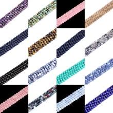цена Natural Lapis Lazuli Tiger Eye Pink Amethysts Quartz Gem Round Loose Strand Stone Beads for DIY Bracelet Jewelry Making 4-12mm онлайн в 2017 году