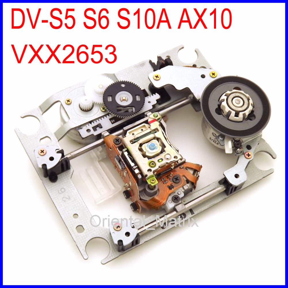 Free Shipping VXX2653 DV-S5 S6 S10A AX10 Laser Lens With Mechanism Lasereinheit VXX 2653 DVD Optical Pick-up For Marantz Player