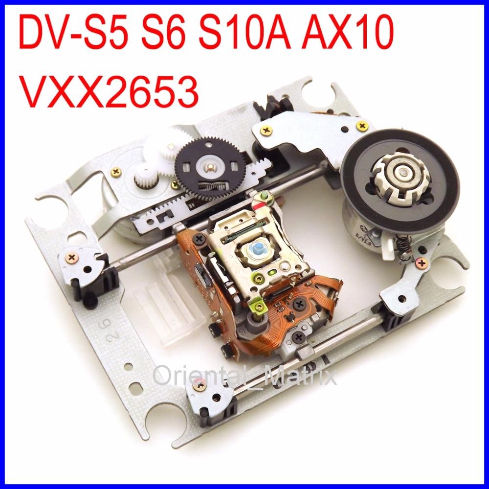 Livraison Gratuite VXX2653 DV-S5 S6 S10A AX10 Lentille Laser Avec Mécanisme Lasereinheit VXX 2653 DVD Optique Pick-Up Pour Marantz Lecteur