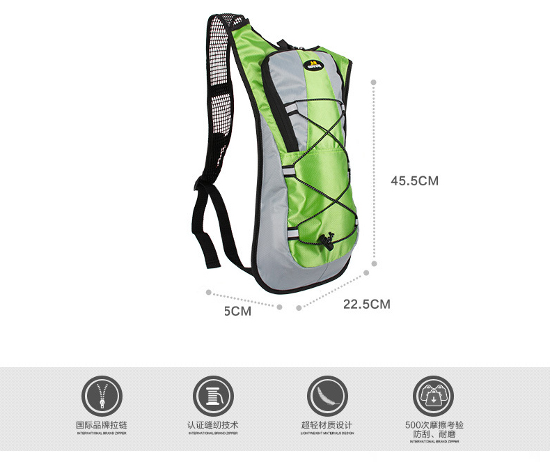New Arrive Mini Running Backpack 2L Water Bag Cycling Bag Hiking Climbing  Hydration Backpack Mountain Pack Climbing Bag-in Water Bags from Sports ... 772c8c2ce8