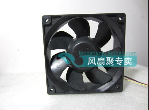 CNDC24B7SQ 12CM 120*120*38 24V0.2A 4.8W 3 wire cooling fan original delta afb1212hhe r00 dc12v 0 70a 3wires 120 120 38mm 12cm alarm signal cooling fan
