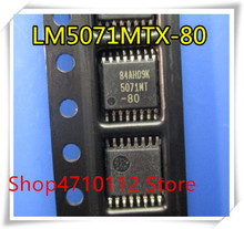 NEW 10PCS/LOT LM5071MT-80 LM5071MT-80/NOPB LM5071MTX-80 LM5071MT 5071MT-80 TSSOP-16