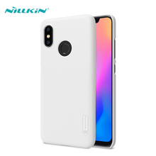 For Xiaomi Mi 8 Case Mi8 Cover NILLKIN Super Frosted Shield Hard PC Cases Phone Back With Screen Protector