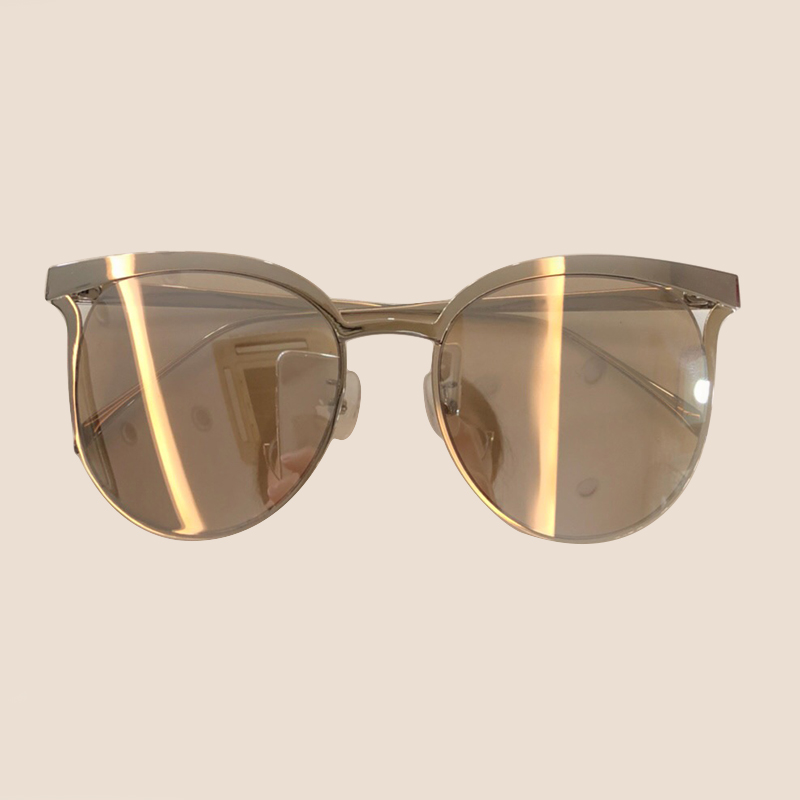 Marke Mit Frauen 3 no Box no Hohe Eye Uv400 Cat Sunglasses Rahmen Objektiv Sunglasses Legierung 4 2 Sonnenbrille De Sunglasses Sunglasses Oculos Shades 1 no Sol No Qualität Schutz Designer Feminino 5tO54qF