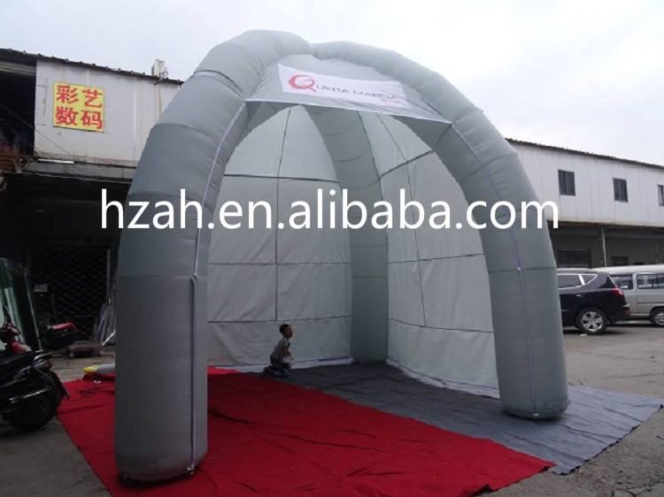 Giant Inflatable Dome Tent with Four Legs cheap giant nylon material inflatable outdoor tent with six legs for sale