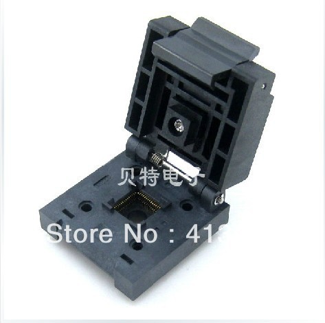Original block QFN56 adapter programmed IC, QFN-56B-0.5-01 burning test ic qfp32 programming block sa636 block burning test socket adapter convert