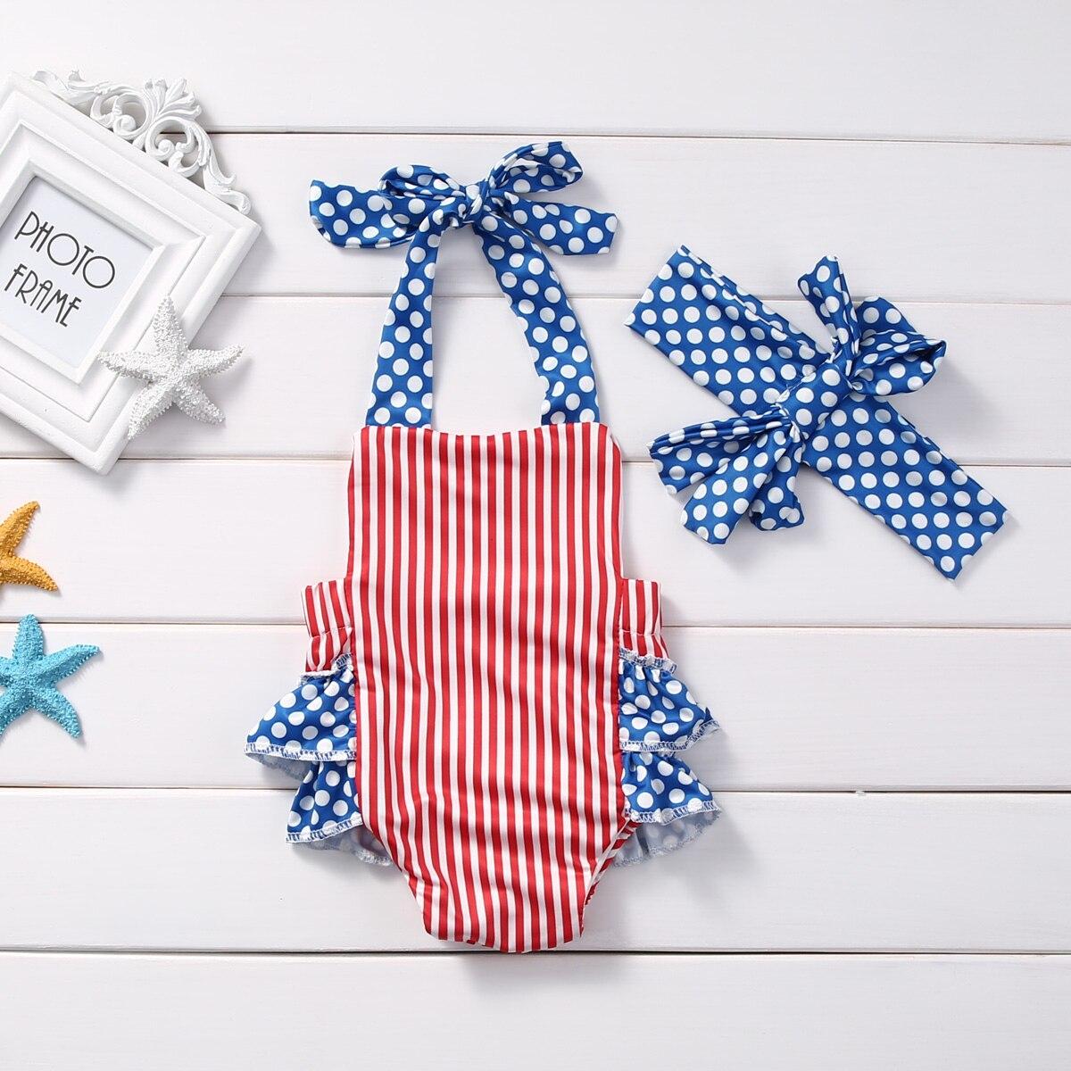 57a2a10e2af8f ᗖ2pcs Newborn Infant Baby Girls Clothes Summer Sleeveless Belt ...