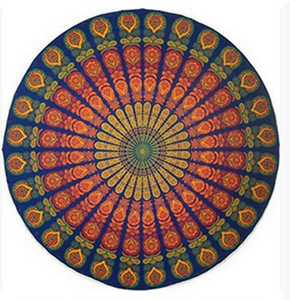 Image 2 - Psychedelic Mandala Hippie Bohemian Tapestries Wall Hanging Flower Psychedelic Tapestry Indian Dorm Decor for Living Room