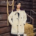 Women's Fur Coat Thicken Long Section Double-faced Fur Coat GSJ005