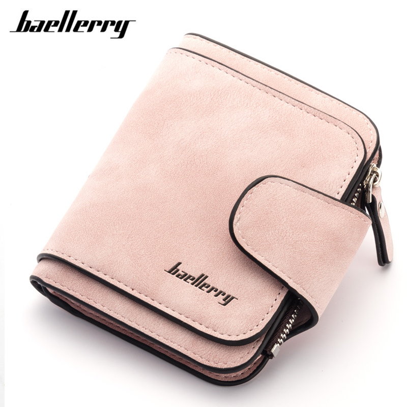 Baellerry Fashion Women Wallets Card Holder Coin Purse Soft Ladies Leather Wallet Female Small Slim Magic Wallet Girl Handy bag aoeo plaid women purse small wallets mini bag soft leather double photo holder zipper coin purses ladies slim wallet female girl