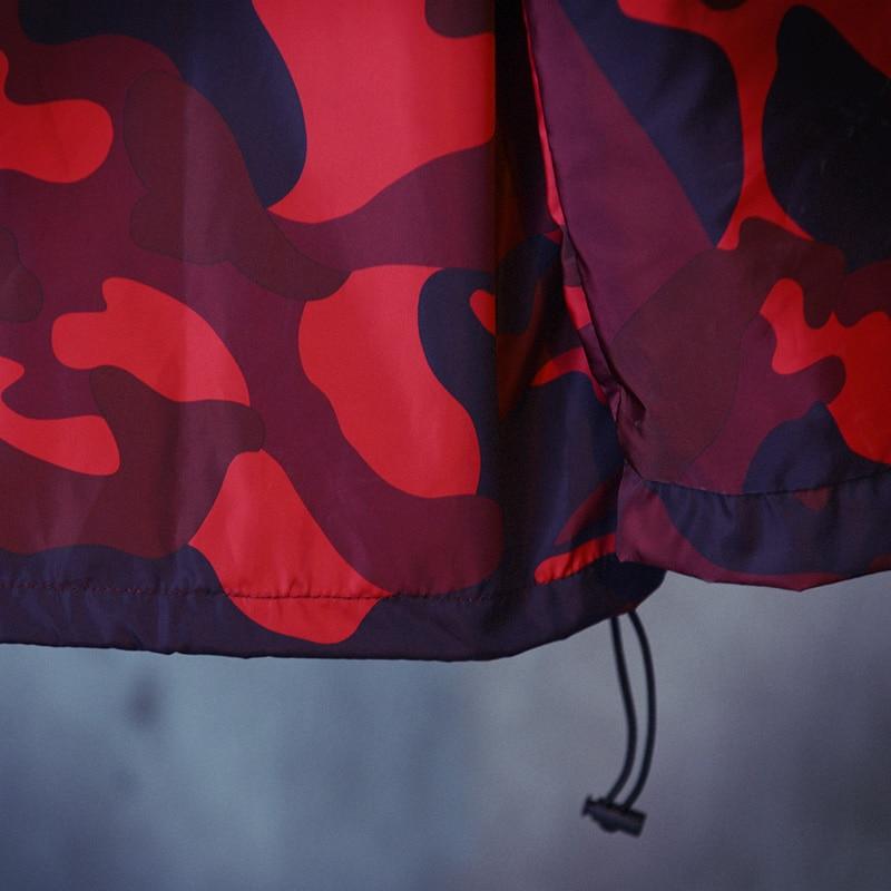 201 bahar Avrupa ve Amerikan retro sokak rüzgar kırmızı kamuflaj - Erkek Giyim - Fotoğraf 4