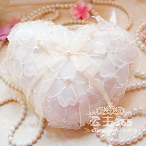 US $12.5  1pcs 16*16cm Ring pillow heart ring pillow with box western style  marriage wedding supplies Decorations Favor on Aliexpress.com   Alibaba ...