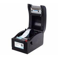 Высокое качество 152 мм/сек. стикер штрих-код этикетки принтера Термальность принтер может печатать одномерных код, qr-код