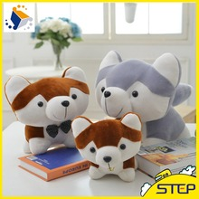 Free Shipping 20cm Super Cute Mini Husky Dog Plush Animal Toy Baby Toy Dog Doll Birthday GIfts for Children ST379