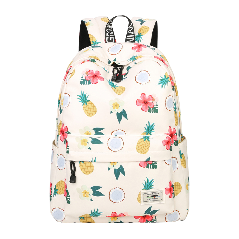 Women's Bags Backpacks Professional Sale Floral Printing Canvas Backpack Fashion Schoolbags For Teenage Girls Women Travel Backpacks For Girls Mochila Feminina Laptop