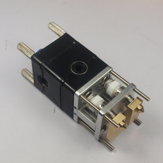 3 D printer parts Ultimaker 2 UM2 dual extrusion kit Nozzle hot end kit/set assembly print head kit for 3mm filament
