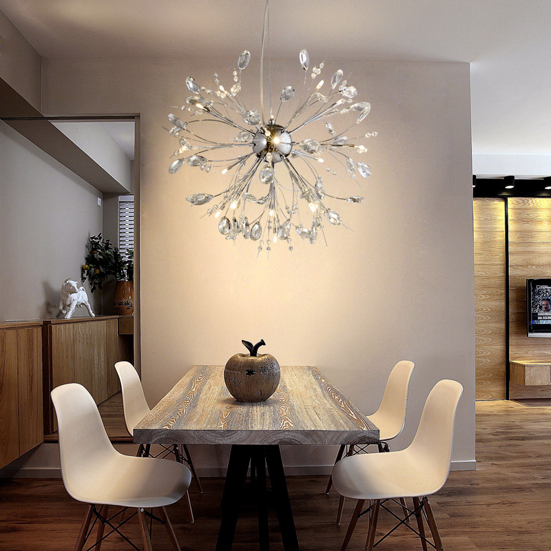 European luxury crystal chandelier living room LED modern creative personality restaurant chandeliers art crystal lamp bedroom 2016 led the new circular living room chandelier modern minimalist restaurant lamp bedroom stylish acrylic art light chandeliers