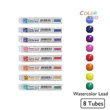 8pcs/lot Kawaii Pilot Color Eno Mechanical Pencil Lead 0.7mm Graphite Pencil Watercolor Drafting Pencil Lead Crayon Japanese